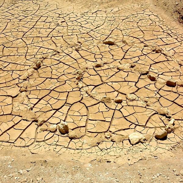Mud pan, Atacama Desert, Chile, November, 2007