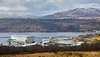 Faslane Naval Base from Glen Fruin - 8 March 2020