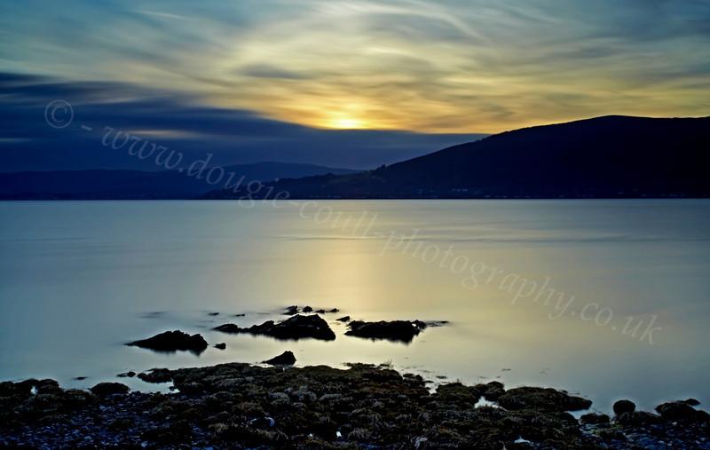 Evening View - From Kilcreggan - 17 February 2013