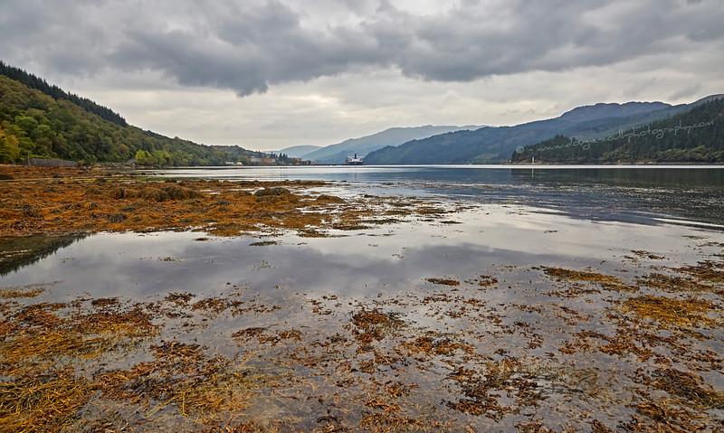 Glen Mallan in Loch Long - 4 October 2015