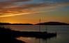 Sunset at Crinan - 23 April 2015