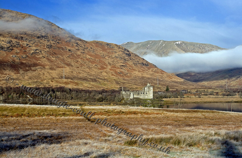 Loch Awe and Castle Ruins