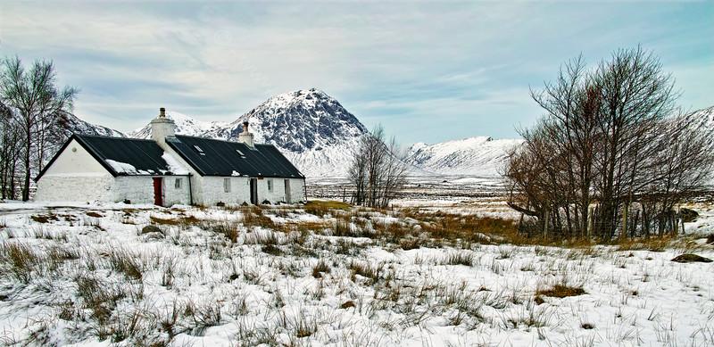 Black Rock Cottage in Glencoe - 7 February 2015