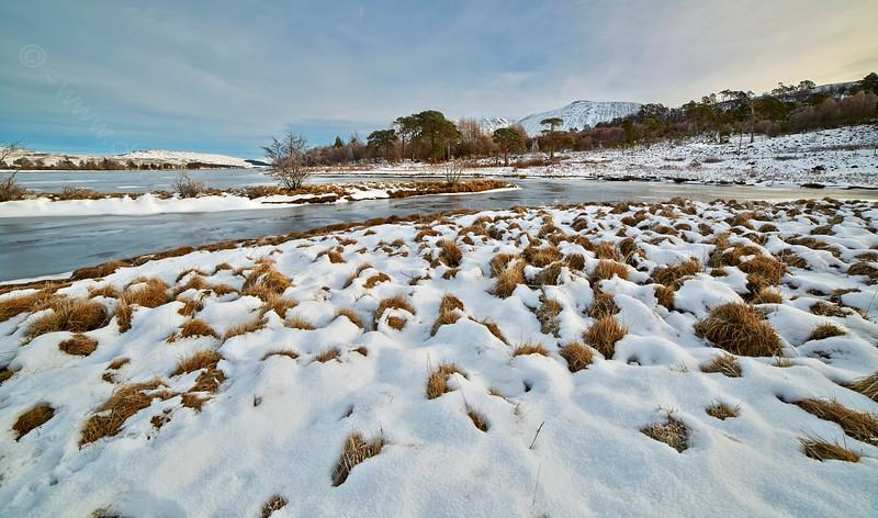 Loch Tulla near Inveroran - 7 February 2015