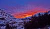 Sunset at Glen Etive - 7 February 2015