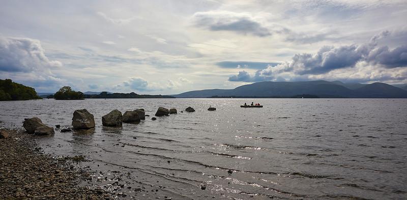 Milarrochy Bay at Loch Lomond - 5 August 2018