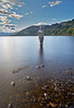 Mirror Man in Loch Earn, St Fillans - 9 September 2017