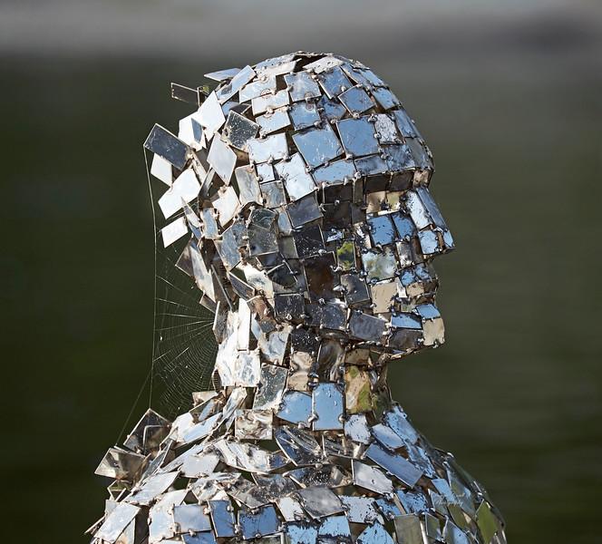 Mirror Man in Loch Earn, St Fillans - 9 September 2017