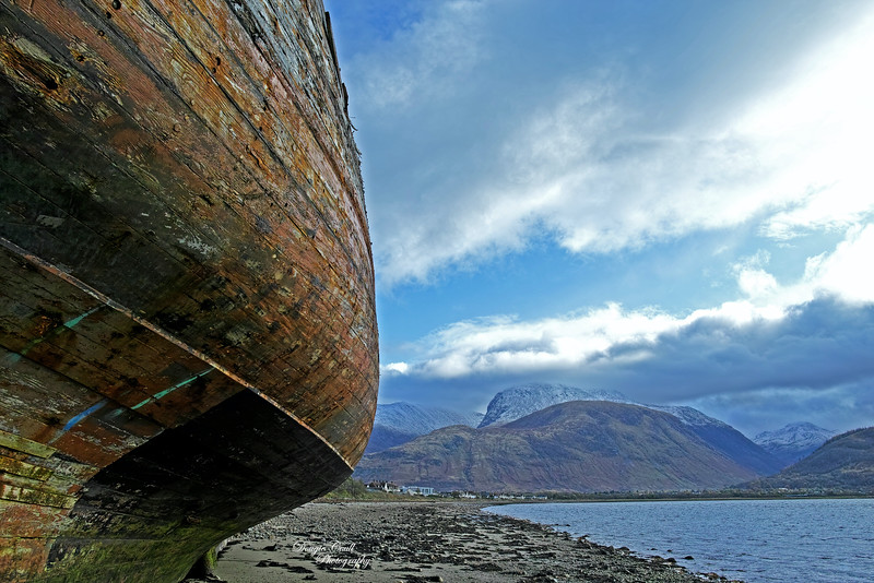 The Corpach Wreck - 26 October 2019