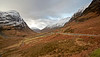 Looking Down Glencoe - 7 December 2012