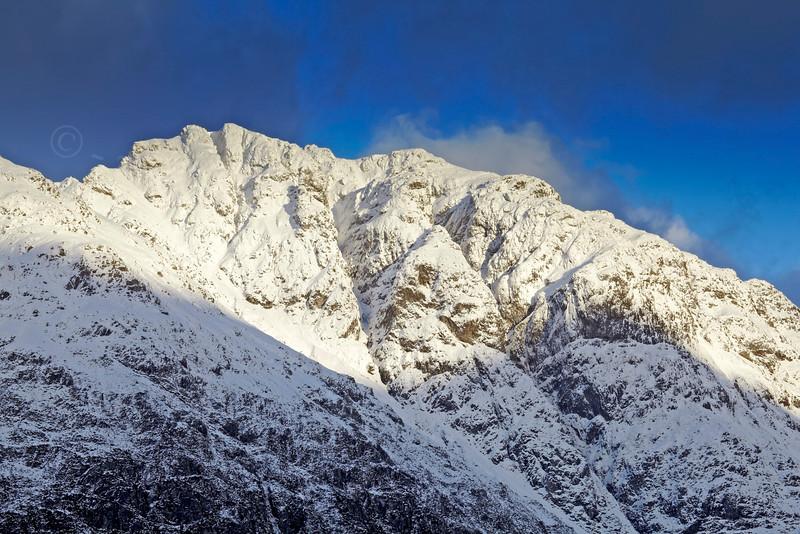 Snowy Peak in Glencoe - 7 December 2012