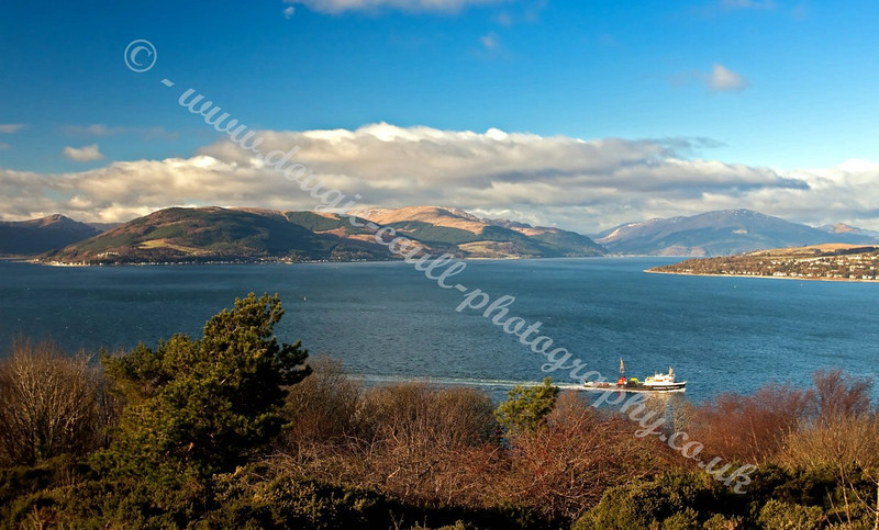 Cowal Hills from Tower Hill