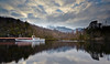 Sir Walter Scot at Loch Katrine in the Trossachs - 30 January 2014