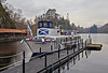 Lady of the Lake Berthed in Loch Katrine - Trossachs - 30 January 2014
