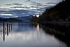 Sunset - Loch Ard - 7 October 2012