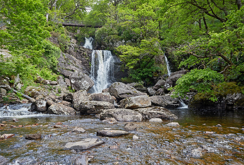 Inversnaid Waterfall in the Trossachs - 27 May 2019