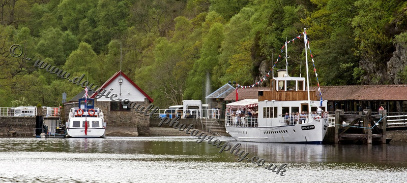 Sir Walter Scott Steamship and Lady of the Lake Launch