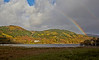 Rainbow Over the Trossachs - 29 October 2013