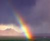 Rainbow at Mellon Udrigle - 25 October 2019