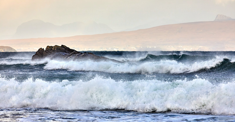Waves at Mellon Udrigle - 25 October 2019