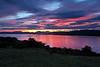 Langbank Sunset - 1 July 2012