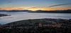 Sunset - from Lyle Hill, Greenock - 4 June 2012