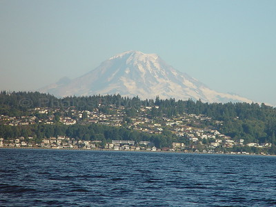 Mt. Rainier from Puget Sound
