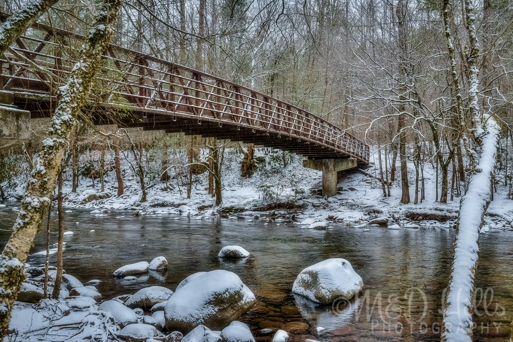 Bridge Over West Prong, Little Pigeon River