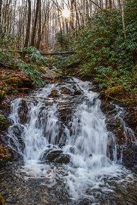 White Oak Flats Branch Falls