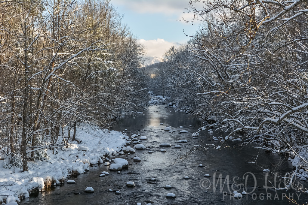 Winter At West Prong Little Pigeon River