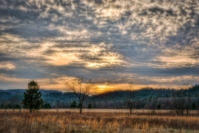 Cades Cove Sundown
