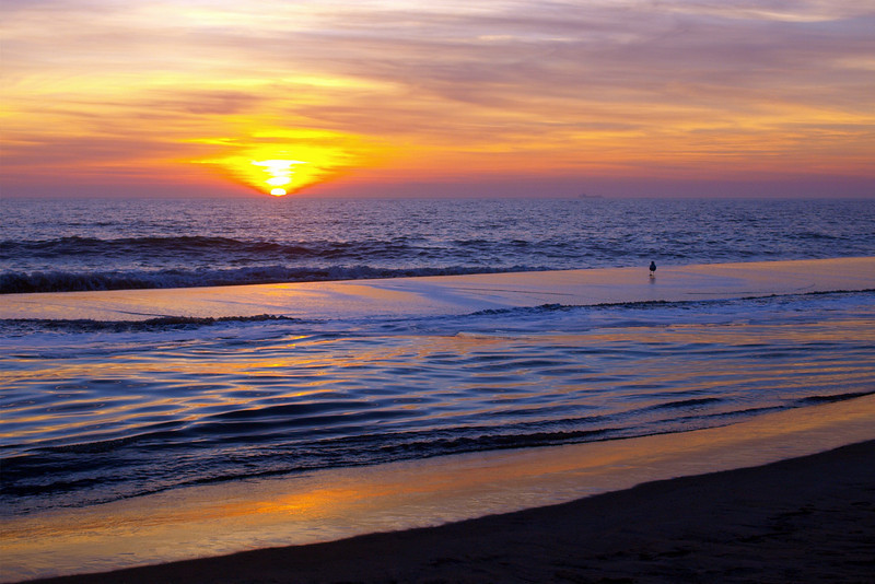 Painted Sunrise<br /> <br /> January 8, 2008<br /> <br /> Bethany Beach, DE