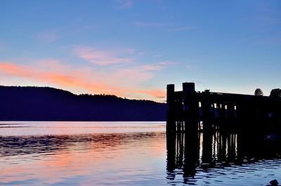 Sunset at Alberni Harbour Quay