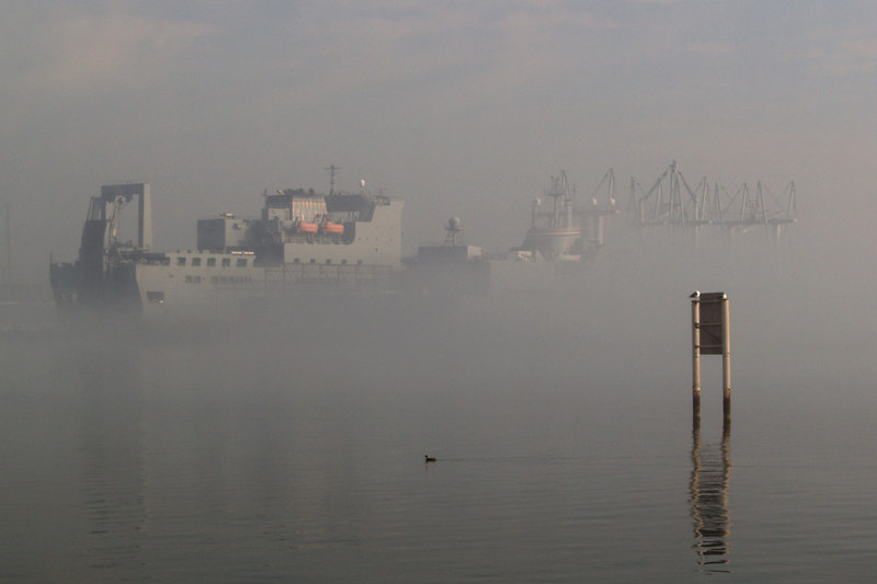 Ship in the Mist<br /> <br /> December 15, 2006<br /> <br /> Baltimore, MD