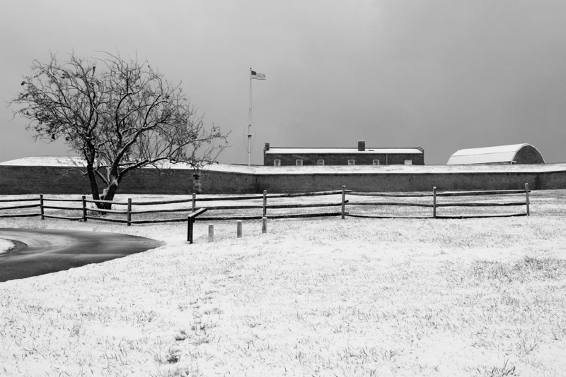 A Snowy Morning at Fort McHenry<br /> <br /> December 5, 2007<br /> <br /> Baltimore, MD