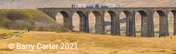 Ribblehead Viaduct in Spring