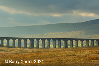 Ribblehead Viaduct in Autumn