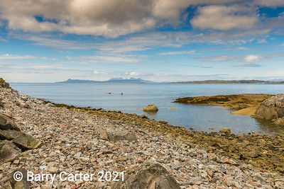View of Eigg