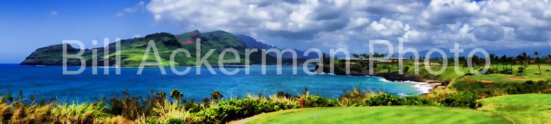 Kaua'i Lagoons Panorama