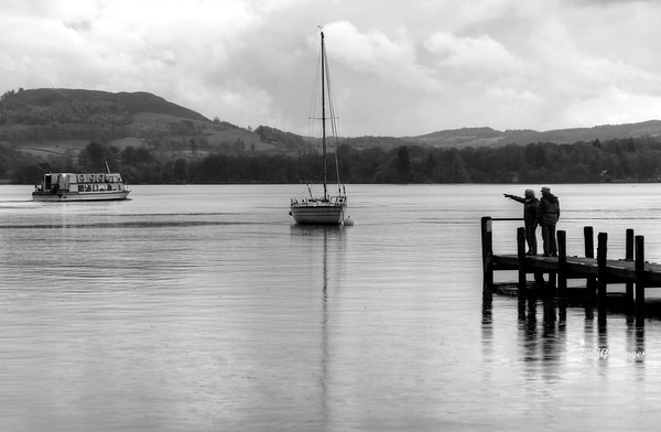 Watching on Windermere