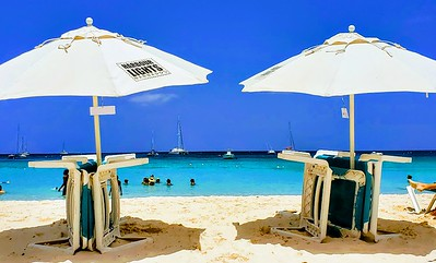 Beach Umbrellas, Barbados