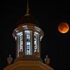 Blood Moon and Steeple
