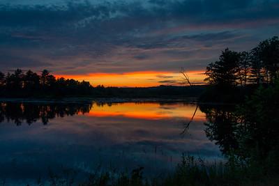 Lake Arrowhead at Sunset