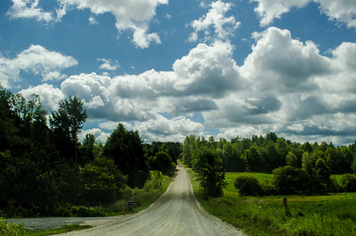Country Road in Vermont