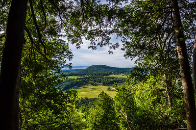 View from Mt Philo