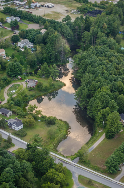 Hobbs Road Pond in Milton