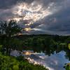 Lamoille River in Fairfax