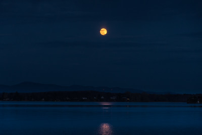 Moon Over Mills Point