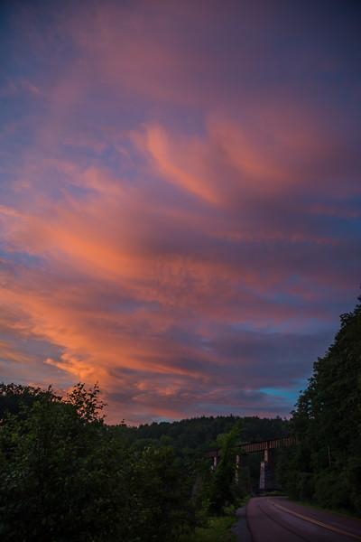Another Highbridge Sunset