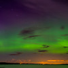Aurora Over Sandbar From Milton
